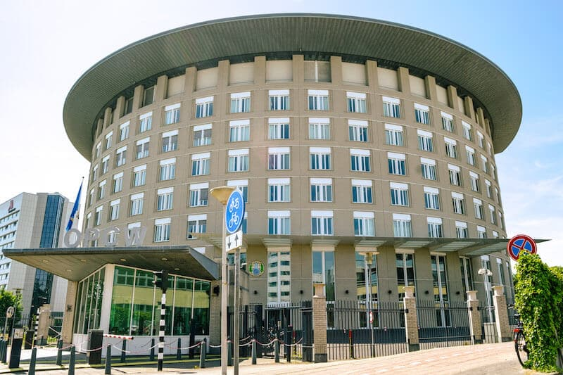 OPCW building in the Hague