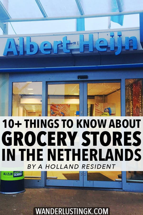 Planning your trip to Amsterdam? These money saving tips for navigating the Dutch supermarket will help you save euros and find great souvenirs within the Dutch grocery store.  Written by a Holland resident! #travel #netherlands #holland #amsterdam #nederland