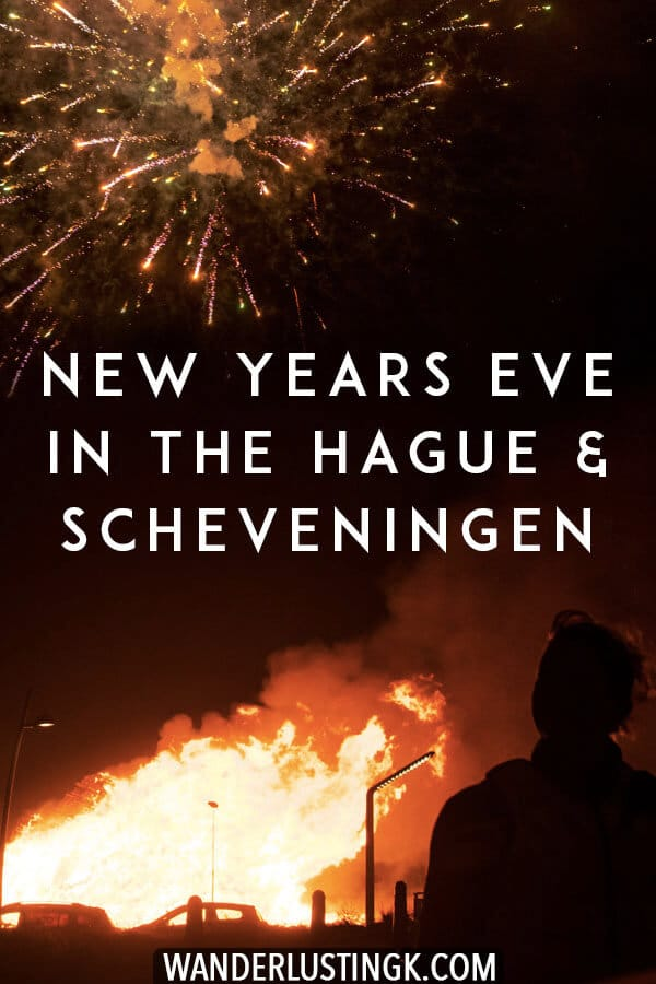 Wondering what it's like to spend New Year's Eve in the Hague or Scheveningen in the Netherlands? Read about these New Year's traditions in Holland! #travel #holland #netherlands #scheveningen #hague