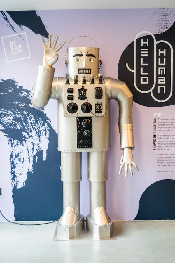 A robot within the Bizarium, a strange museum in the Netherlands perfect for those looking for an alternative experience in the Netherlands! #netherlands #holland #travel