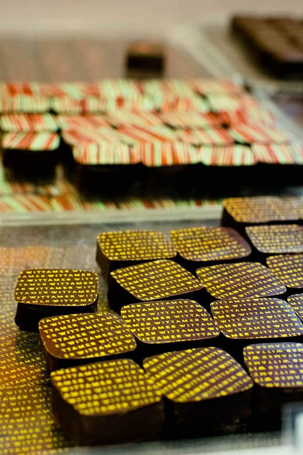 Chocolates photographed at some of the best chocolatiers in Brussels! #chocolate #chocolade #brussels #belgium