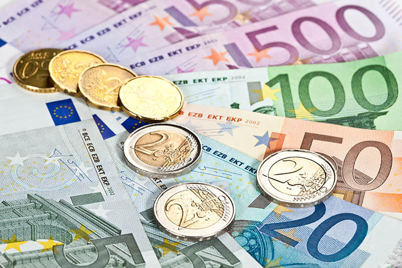 Euros are used throughout the European Union, but not used in all countries in Europe!