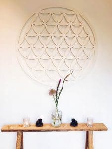 Beautiful interior of Delight Yoga, a yoga studio in the Hague, the Netherlands with classes in English #yoga #denhaag #hague #expat