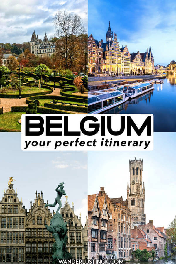 Looking for your perfect itinerary for your first trip to Belgium? Read this guide to a week in Belgium, including highlights of Brussels, Bruges, Antwerpen, Ghent, and Namur to see Wallonia AND Flanders! #travel #wallonia #brussels #antwerp #gent #bruges #belgium