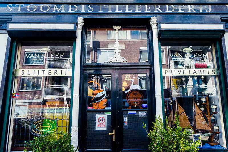 Beautiful exterior of Van Kleef in the Hague!