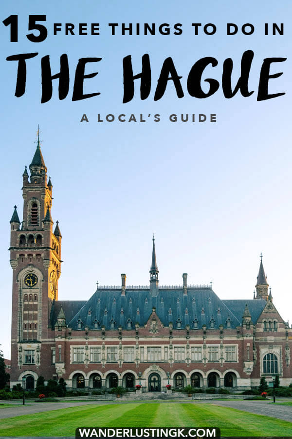 Visiting the Hague on the budget? You might be surprised how much you can do! Read a local's guide to the best free things to do in the Hague! #hague #haag #denhaag #holland #Netherlands #nederland