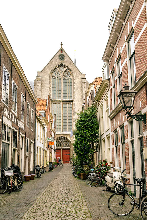 View of the Pieterskerk in Leiden, one of the notable churches of Leiden worth visiting! #leiden #holland #netherlands  #nederland