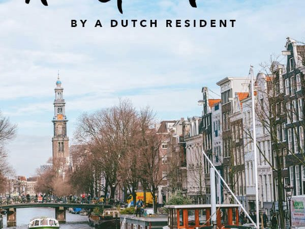 Your complete guide to solo female travel in Amsterdam, the Netherlands written by a tourist-turned-local with helpful safety tips and need-to-know advice for planning your trip to Amsterdam! #travel #amsterdam #holland #netherlands #solotravel