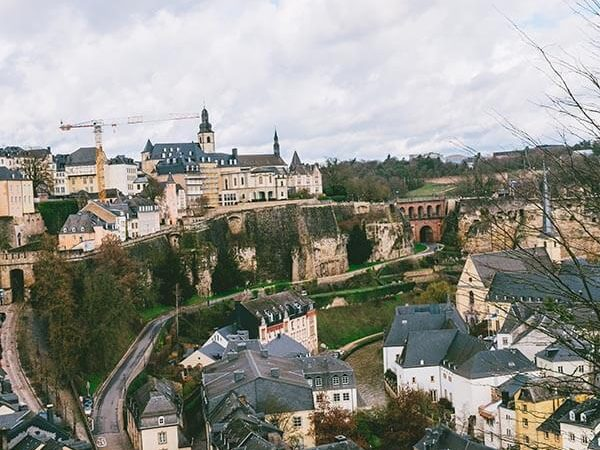 View of Luxembourg City and its Casemates taken during a weekend in Luxembourg. #travel #Luxembourg