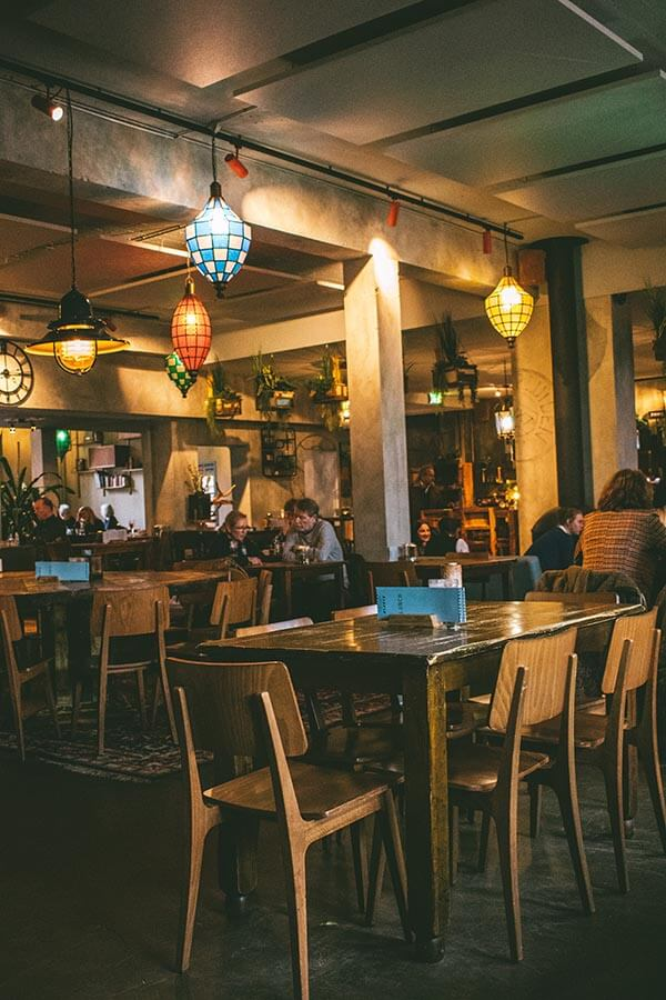't Postkantoor, one of the best places to eat in Delft