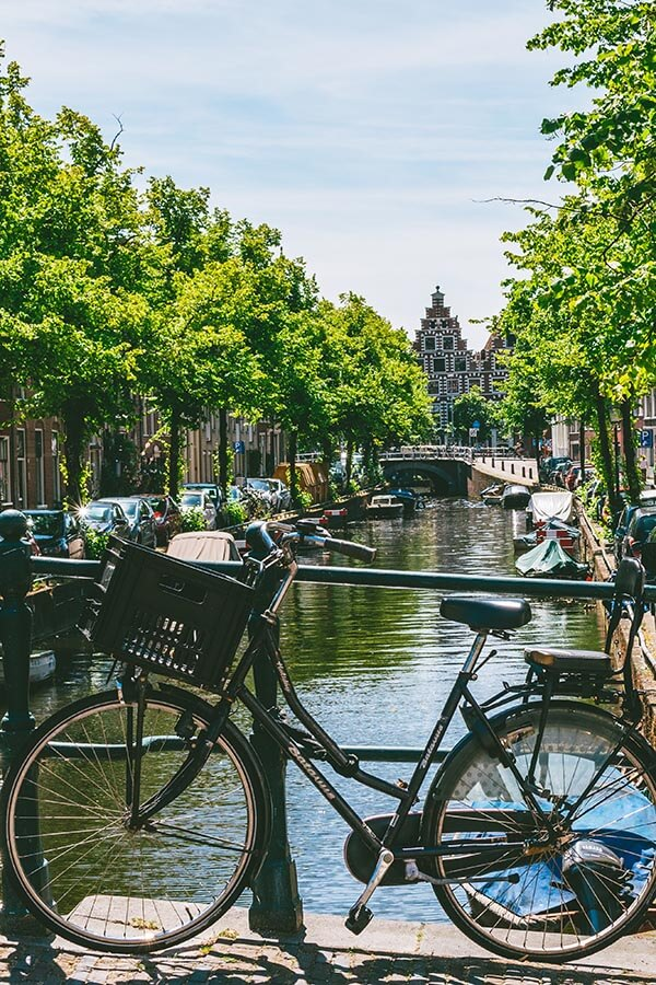 Haarlem, one of the day trips from Amsterdam, possibly public transit from Amsterdam!