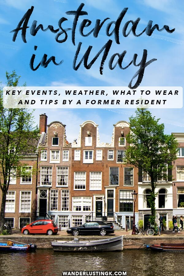 Your complete guide on what to do in Amsterdam in May written by a local with key events, weather, and tips for making the most of your trip to Amsterdam! #amsterdam #travel #holland #netherlands