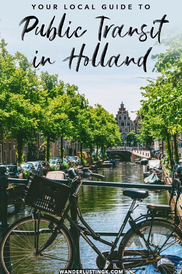 Your guide to public transit and trains in Holland. Read tips for traveling independently in the Netherlands with the best train tickets to buy for day trips from Amsterdam. #amsterdam #holland #netherlands #travel