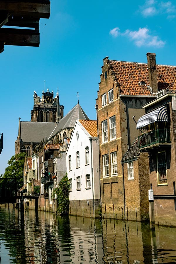 Dordrecht, a city located in Zuid Holland, is one of the prettiest places in Holland to visit