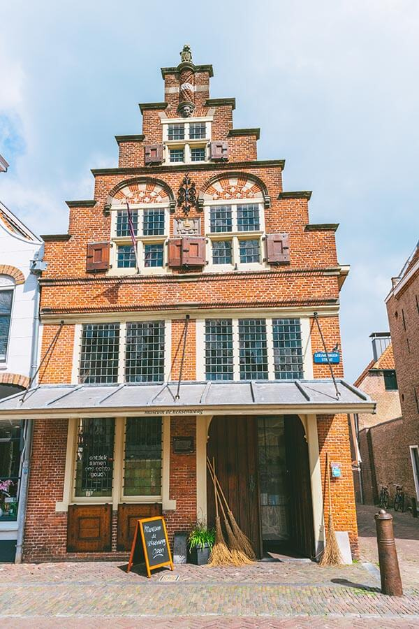 The Oudewater Witch Weighing House (Heksenwaag) where suspected witches were weighed