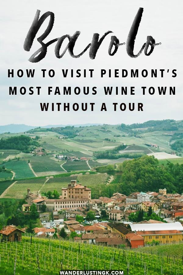 Wondering how to visit Barolo, Italy without a tour with the best things to do in Barolo, Italy. Includes tips for tasting Barolo wine! #piedmont #barolo #italy