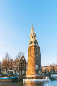 Montelbaanstoren Tower is one of the most beautiful secret spots in Amsterdam!