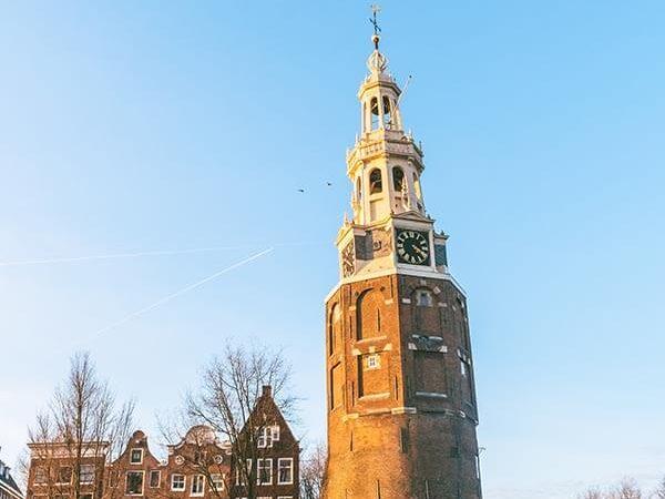 Montelbaanstoren Tower is one of the most beautiful secret spots in Amsterdam!