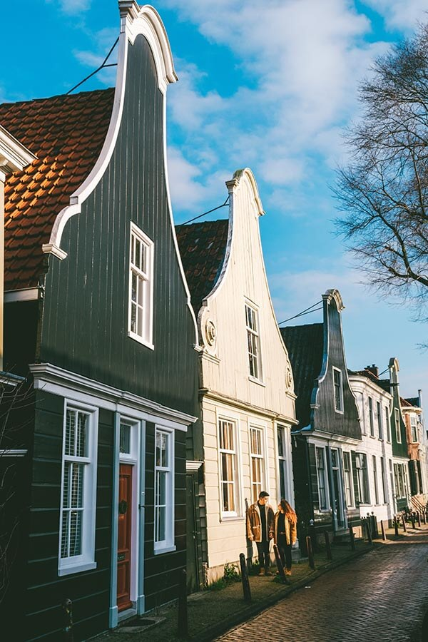 Captain's row in Nieuwendam, a secret village in Amsterdam that you must see!