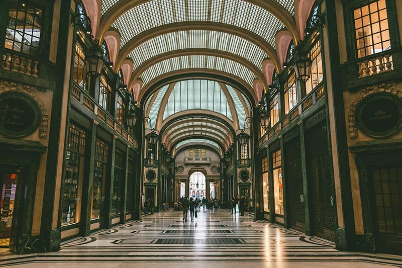 Galleria San Federico is the most beautiful covered passage mall in Turin that you can't miss!