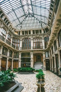 Galleria Subalpina, one of the beautiful covered passages of Turin, Italy!