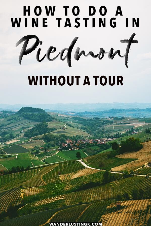 How to do a wine tasting in PIedmont without a tour to try Barolo and Barbaresco