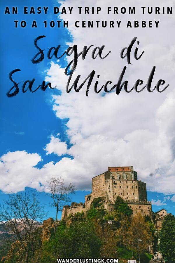 Read tips for visiting Sagra di San Michele, a beautiful day trip from Turin!