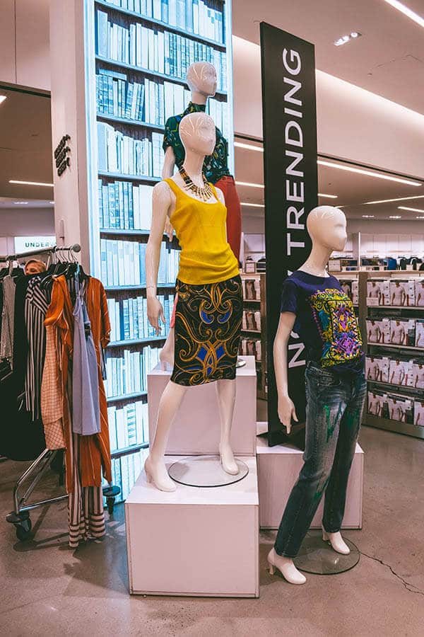 Mannequins wearing stylish clothes at the Century 21 discount department store in New York City ! #NYC #NewYork