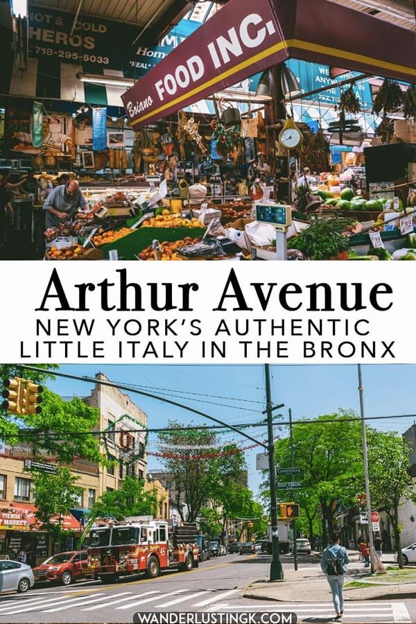 A Food Guide To Arthur Avenue New York S Real Little Italy