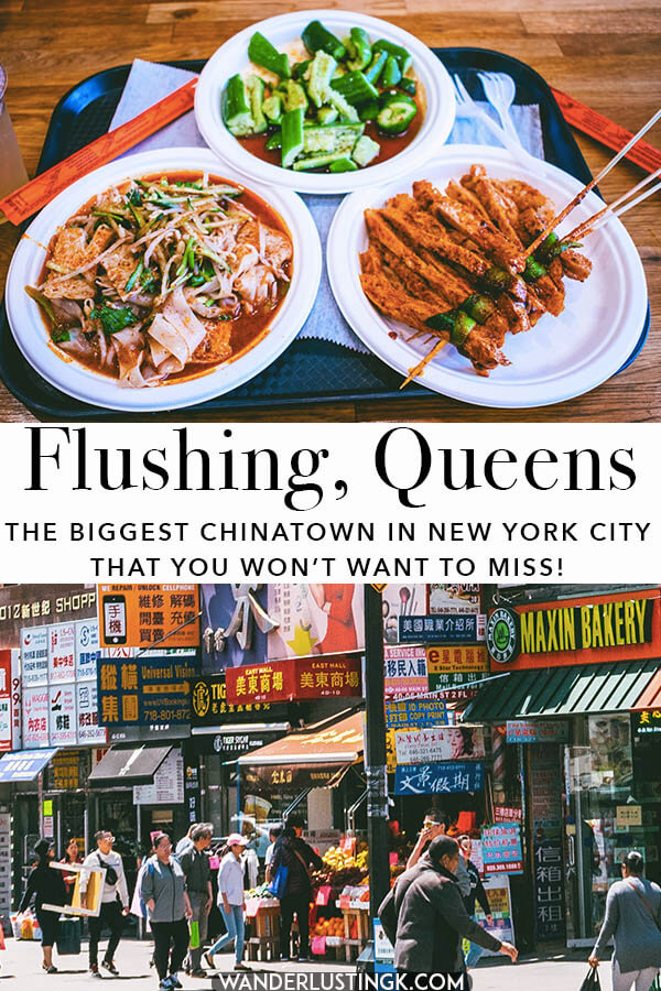 Looking to get off the beaten path in NYC? Insider tips from a New Yorker for visiting NYC's largest Chinatown in Flushing, Queens.  Read about the rich history of this neighborhood made famous by Anthony Bourdain and where to eat the best Chinese food in NYC!
