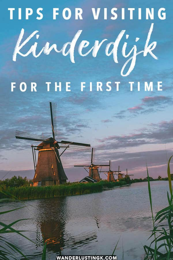 Visiting Kinderdijk for the first time? Read these essential tips for visiting Kinderdijk without a tour!