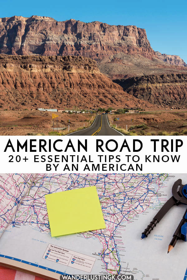 Taking your first road trip through the United States? 20+ Essential tips to know before you road trip in the US by an American!
