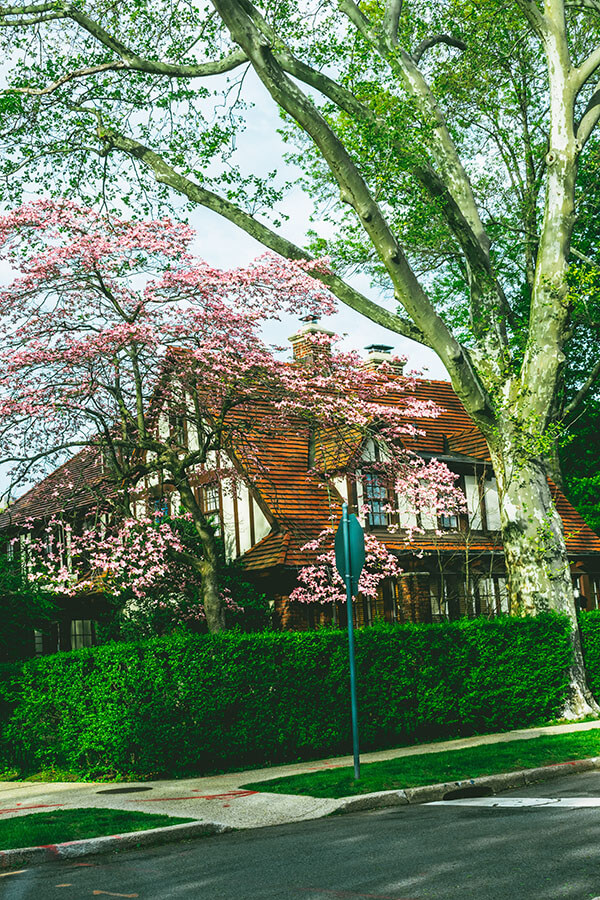 Beautiful home within Forest Hills Gardens in Queens, one of the most unusual things to see in New York City!