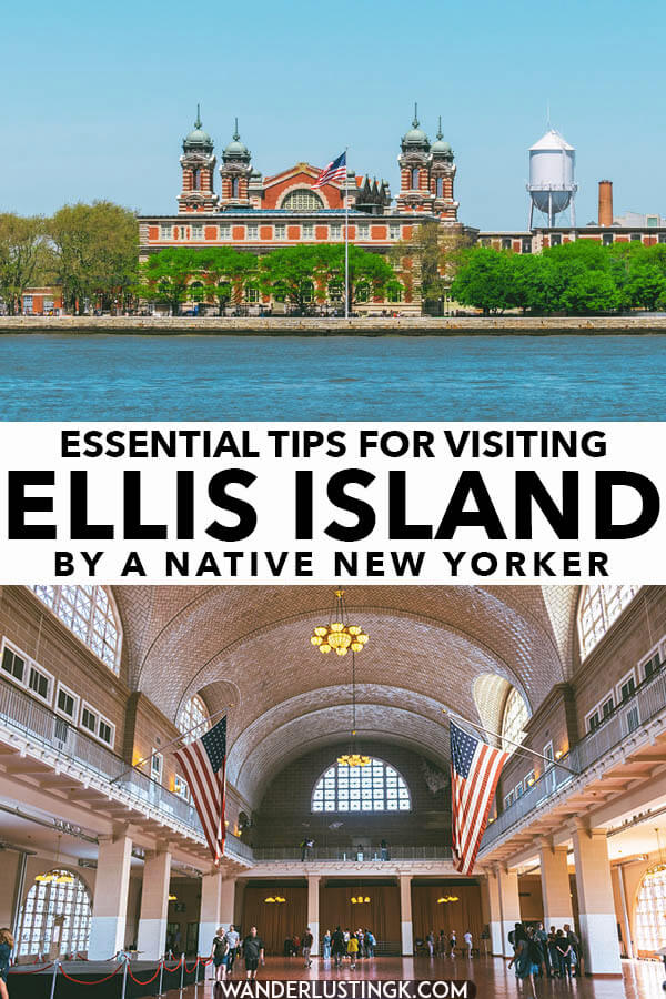 Thinking of visiting Ellis Island and Liberty Island? Read these tips for visiting Ellis Island and its museum for the first time!