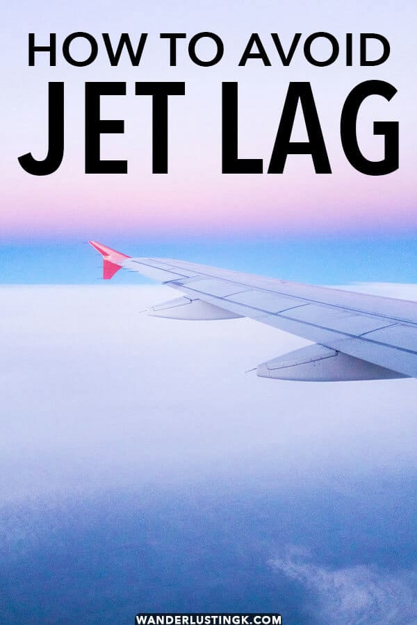 Tired of jet lag! Read my tried-and-tested tips for avoiding jet lag while flying on long-haul international flights and adjusting quickly to your destination!