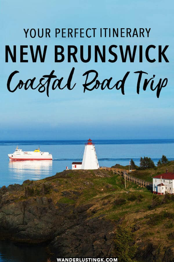 Looking to explore Eastern Canada? Read your perfect one week road trip itinerary through New Brunswick for seeing the best of Coastal New Brunswick to experience Canadian food and culture!