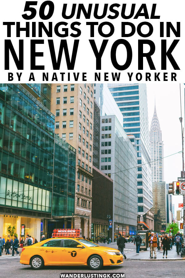 Wondering what to do in New York that isn't the same old? Read this insider guide by a native New Yorker to 50+ unusual and fun things to do in New York City (all boroughs), highlighting the strange, old, alternative, quirky, and dark sides to New York City. Includes what to do in Brooklyn, Queens, Staten Island, and the Bronx off the beaten path!