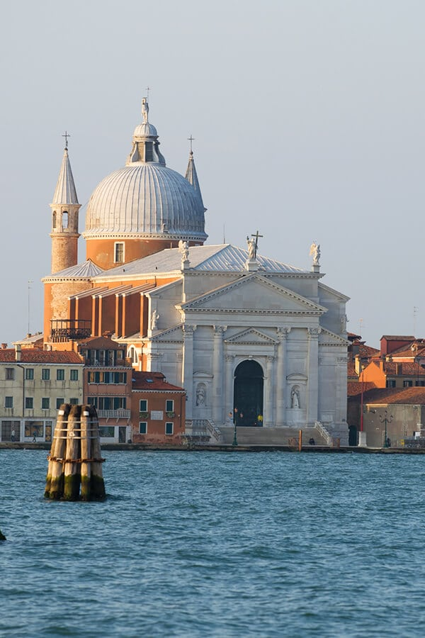 Giudecca Island near Venice, one of the most beautiful islands in Venice to visit.