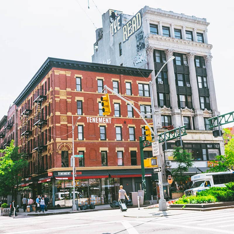 The Tenement Museum on the Lower East Side of Manhattan