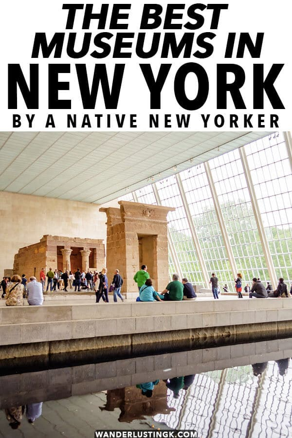 Curious about the best museums in New York City? Your insider guide to museums in New York City that you won't want to miss by a native New Yorker!