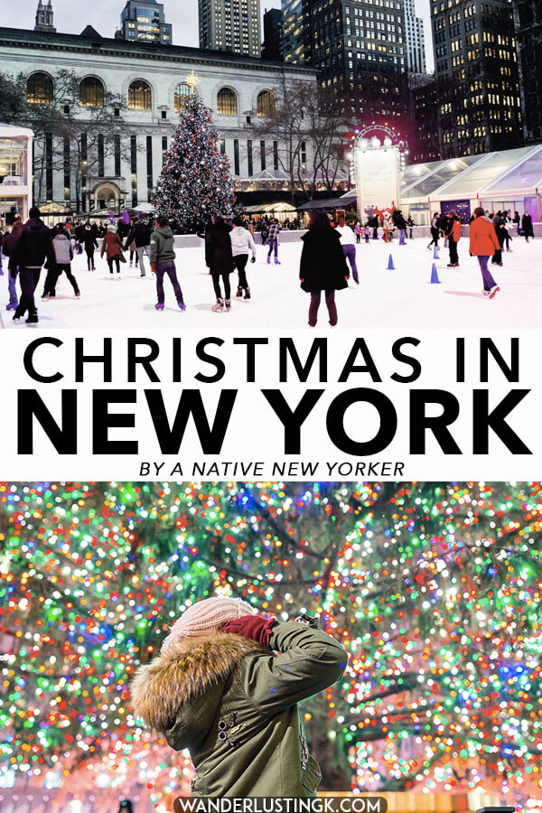 Your insider guide to the best of Christmas in New York City written by a native New Yorker, including the best things to do in New York City in December and Christmas week! Includes what to do during Christmas Day in New York CIty.