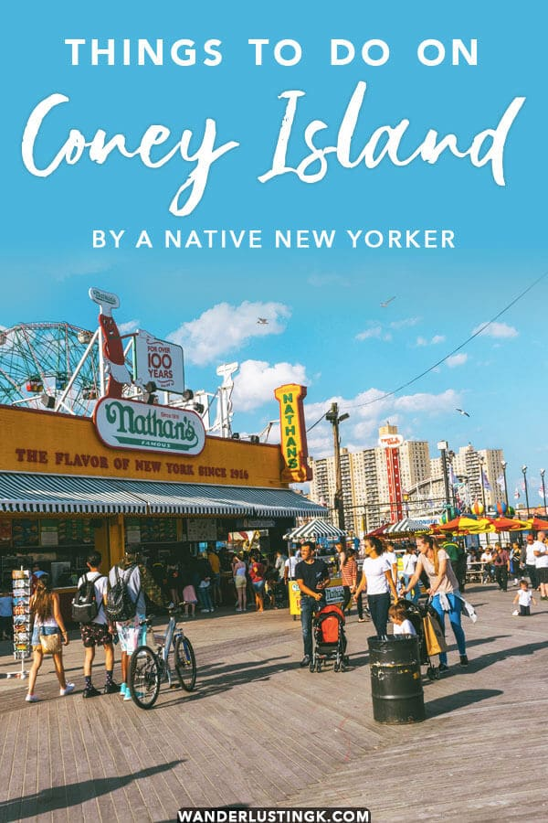 Your insider guide to the best of Coney Island, New York City's summer seaside paradise with a beach, a boardwalk, and amusement parks. Read about the best things to do on Coney Island by a native New Yorker!