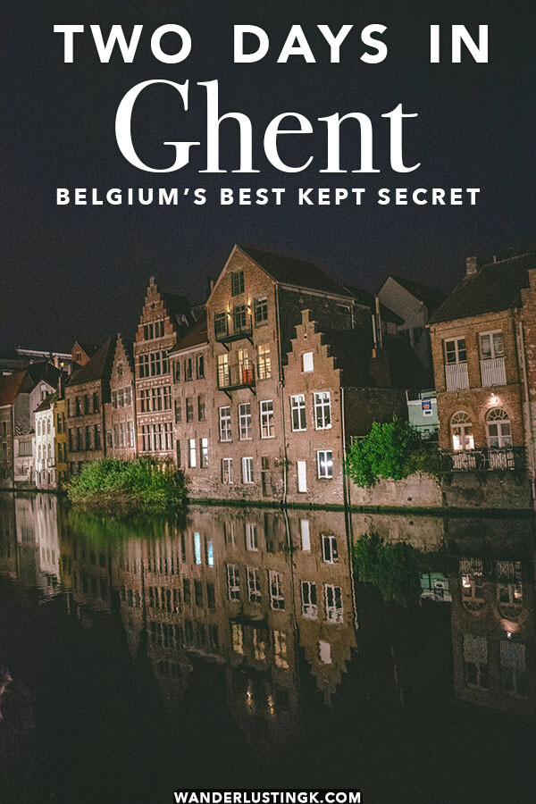 Your perfect itinerary for Ghent, Belgium's most underrated city. This guide to Ghent includes what to do in Ghent over a weekend in Gent and the best things to do in Ghent that you can't miss!