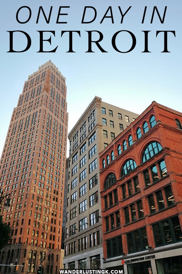 Planning your first trip to Detroit? Read this short guide to Detroit with the highlights of Detroit that you can do within one or two days in Detroit.